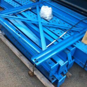 Scaffalature cantilever usate monofronte - SGA Srl Shopmetalshelves