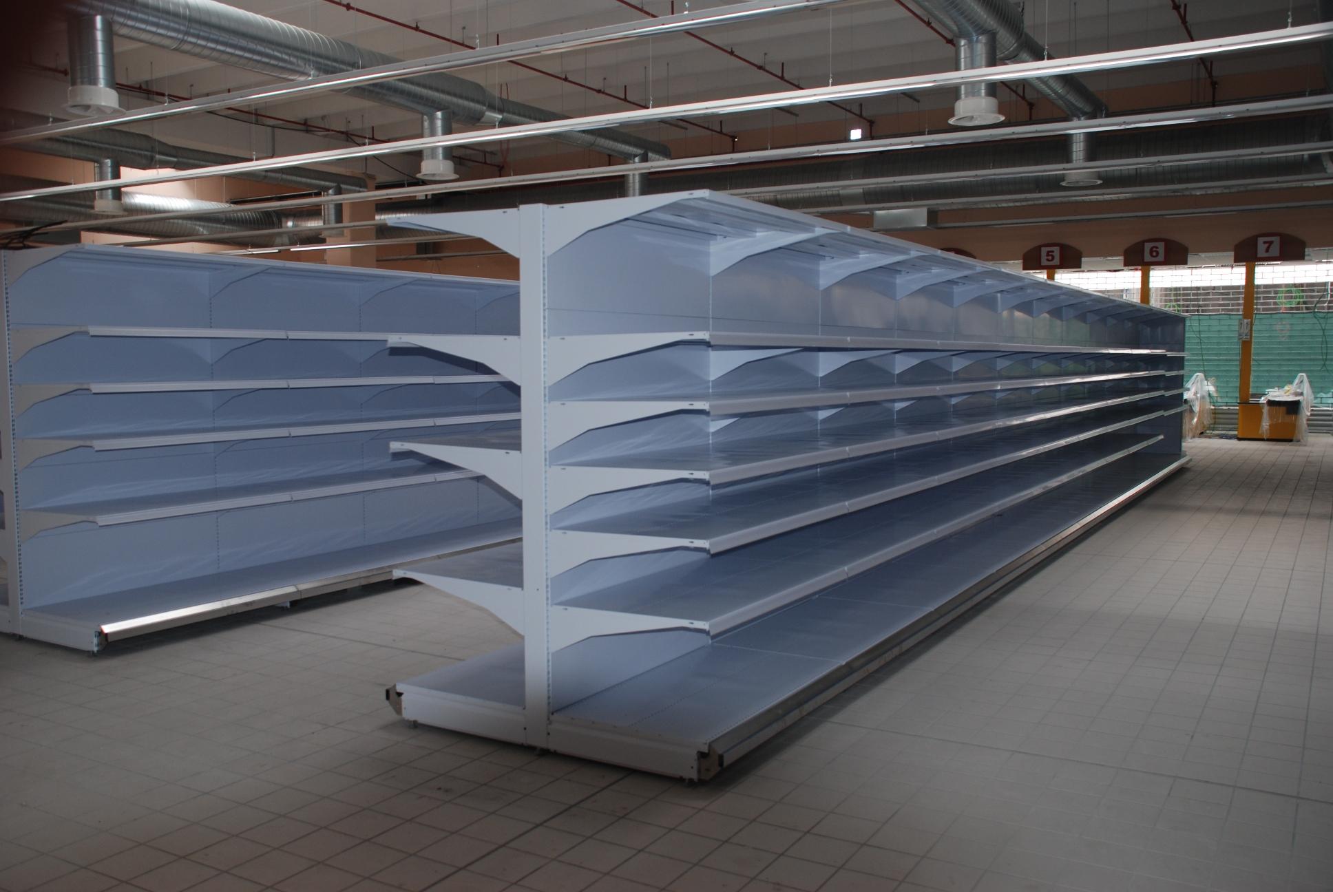 Scaffali X Negozi Usati.Gondole Murali Per Negozio Sga Scaffalature E Soluzioni Logistiche