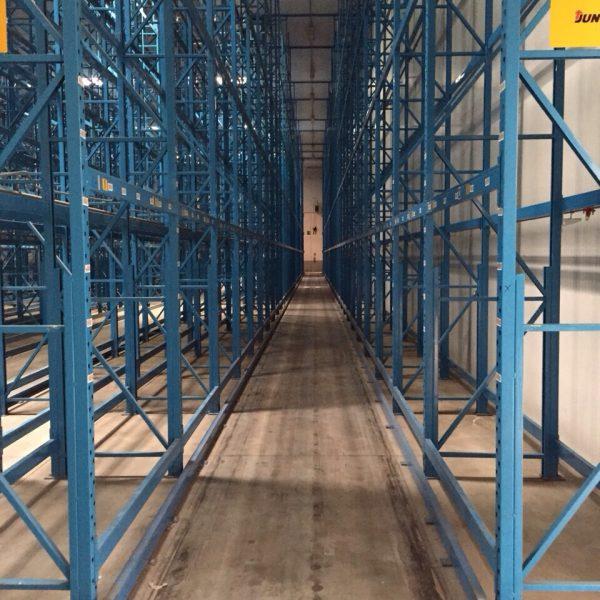 scaffalatura industriale usata