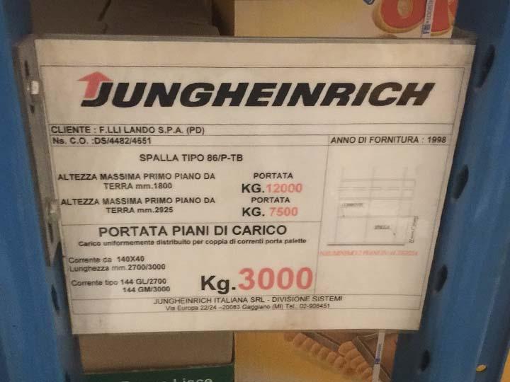 Scaffalature usate metalliche Gamma Italia