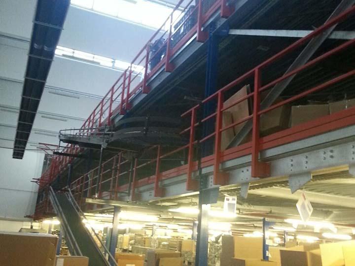 Vendita Soppalchi In Ferro Usati.Soppalco Industriale Usato Sga Scaffalature E Soluzioni Logistiche