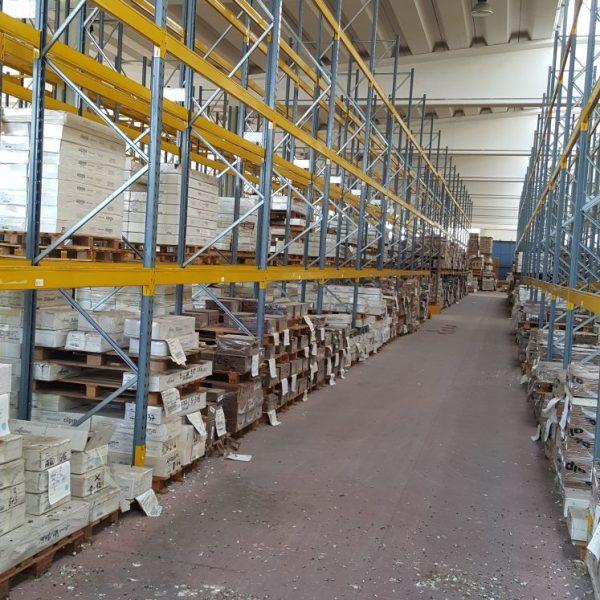 Scaffali Porta Pallet Usati.Scaffalatura Portapallet Usata Gamma Italia Shopmetalshelves